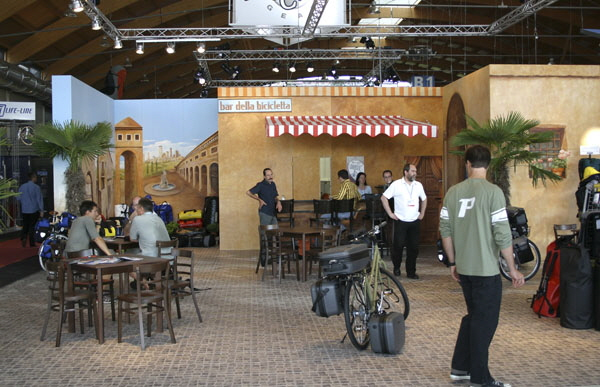 Ortlieb - Messestand